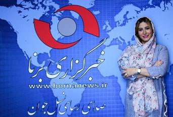 حضور فریبا نادری در خبرگزاری برنا
