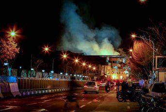 حاشیه های پنجمین روز حادثه پلاسکو