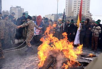 راهپیمایی 22 بهمن - مشهد