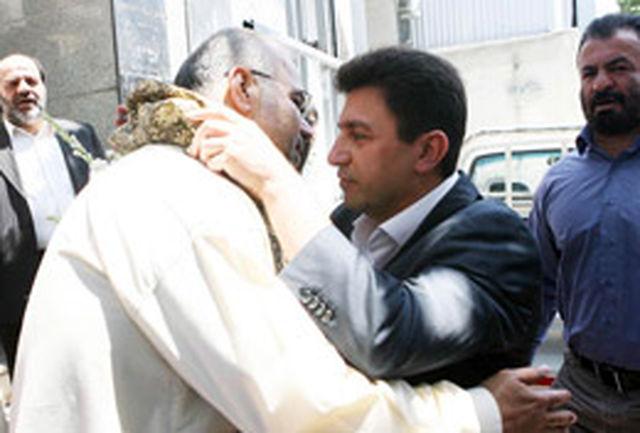 حضور استیلی و قلعهنویی در مراسم مولودی ولادت حضرت علی (ع)+عکس