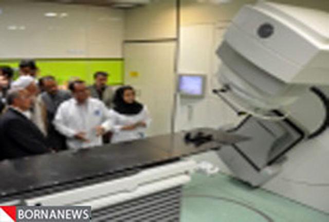 تابش پرتو درمانی در بیمارستان اراک به 150 مورد در روز رسید