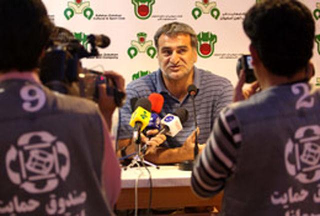 ضیایی: هنوز به بقا در لیگ امیدواریم