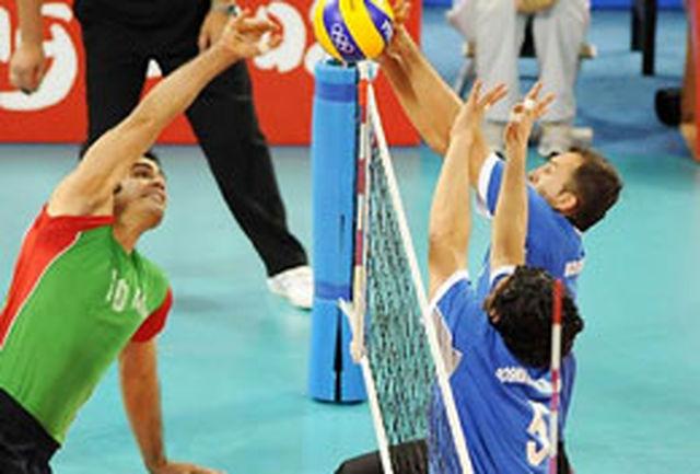 صعود مقتدرانه تیم والیبالنشسته ایران به نیمهنهایی