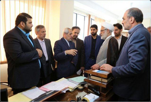 بازدید سرزده دادستان کل کشور از دادسرای جرائم اقتصادی