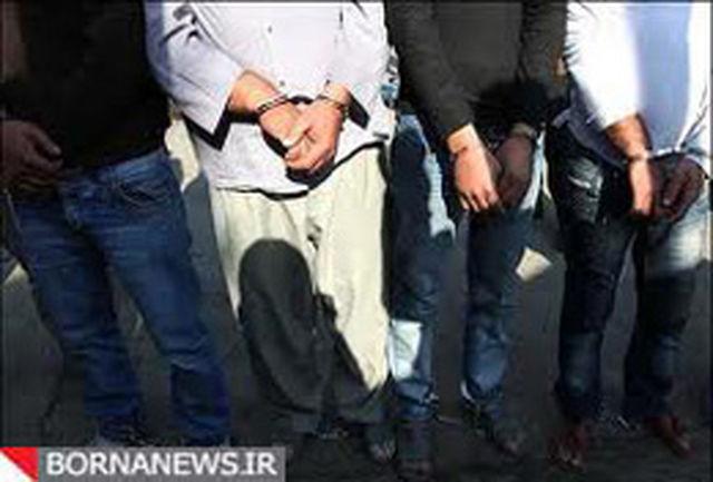 دستگیری 24 سارق و کشف 20 خودرو سرقتی