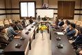 نشست صمیمانه  مشاور وزیر ورزش و جوانان در امور ایثارگران در سمنان