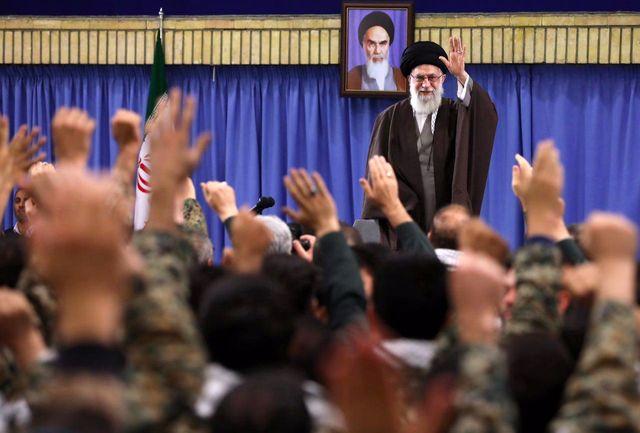 دیدار بسیجیان سراسر کشور با رهبر انقلاب