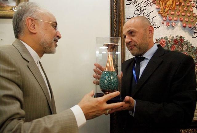 دیدار معاون نخست وزیر و وزیر انرژی بلغارستان با دکتر صالحی