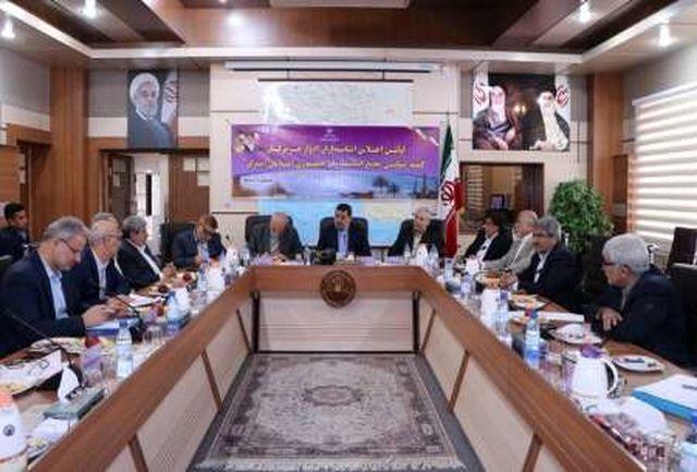 استانداران ادوار هرمزگان نظرات و دیدگاه های خود پیرامون توسعه استان را مطرح کردند