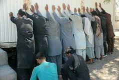 دستگیری 30 سارق /کشف 880 کیلوگرم مواد مخدر در ایرانشهر