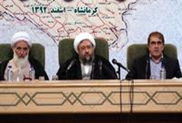 آیت الله آملی لاریجانی: اجرایی شدن سیاست های اقتصاد مقاومتی باید در سه قوه تدبیر شود