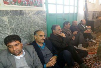 مراسم بزرگداشت آیت الله هاشمی رفسنجانی در شهرستان پلدختر