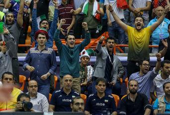 دیدار تیم های ملی ایران - آرژانتین  / لیگ جهانی والیبال