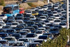 ترافیک پر حجم در آزادراه تهران - کرج