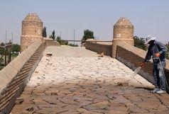 پروژه بازسازی پل تاریخی آجیچای در مراحل پایانی است
