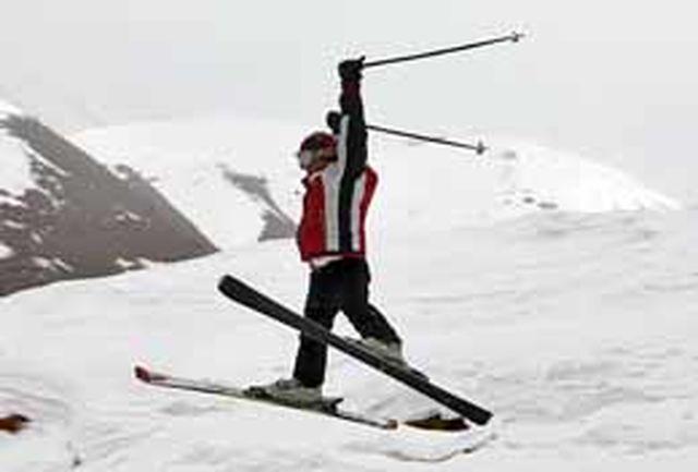 ورزش پاركور در پیست اسكی شمشک