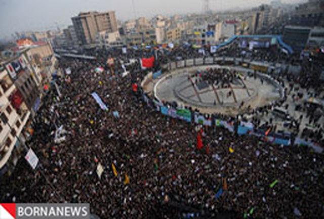 حنجره خیابان، غیرت مردم را فریاد می زد