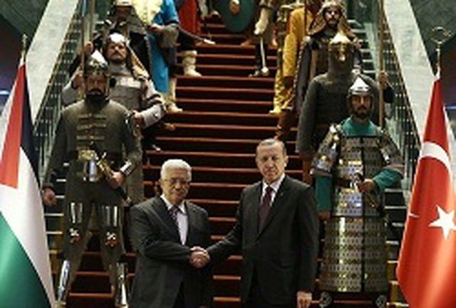 استقبال سینمایی اردوغان از محمود عباس در ترکیه