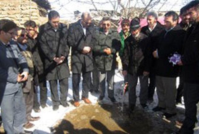 شرشر آب به مردم روستای رحیملو امید داد