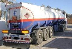 توقیف کامیون حامل 12 هزار لیتر سوخت قاچاق