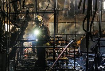 آتش سوزی در هتل آپادانا