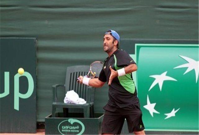 شاهقلی از جدول انفرادی تنیس فیوچرز کویت حذف شد