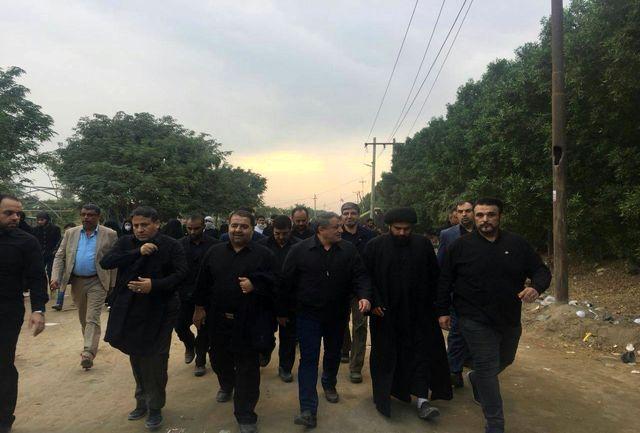 کاهش هزینههای غیررسمی مراسم اربعین/حضور ۱۲۰۰ نیروی عملیاتی شهرداری