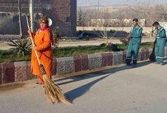 تقدیر از تنها رفتگر زن ایرانی