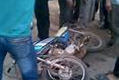 برخورد موتور سیکلت با زائرین پیاده سه نفر مصدوم بر جای گذاشت