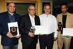 سه ایرانی موفق به دریافت لوح تقدیر و جایزه شدند