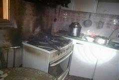 سه مصدوم بر اثر آتش سوزی یک واحد مسکونی در شهرک ارم تبریز