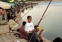 جشنواره و مسابقه ماهیگیری خانوادگی در شهرستان میاندوآب
