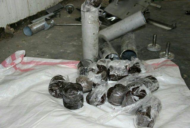 کشف 200 کیلوگرم تریاک در بار پشم