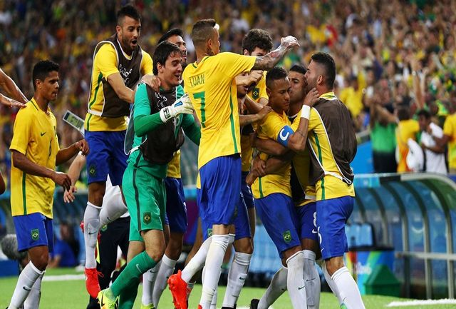 نخستین قهرمانی برزیل در المپیک/ فرشته انتقام گریست و به تاریخ پیوست/ نیمار نابترین طلا را به سلاطین سامبا داد