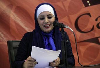 رونمایی از اشعار ترانه حمادی شاعر جوان