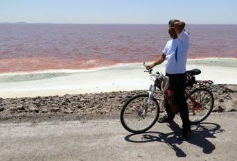 دریاچه ارومیه همچنان نفس می کشد