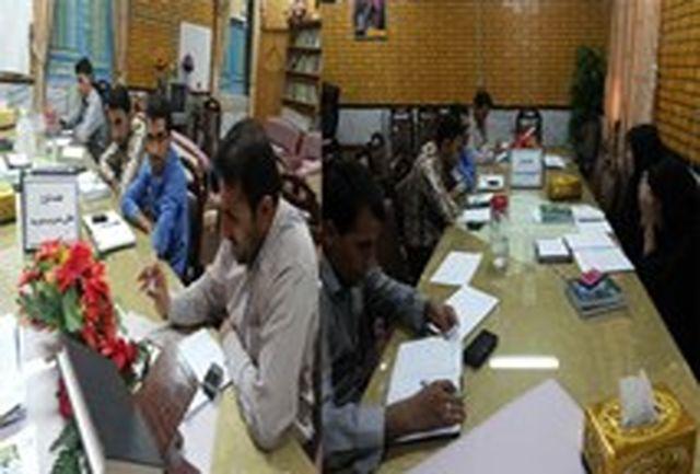 جلسه توجیهی طرح تعالی مدیریت با مدیران مدارس مجری طرح در منطقه سندرک