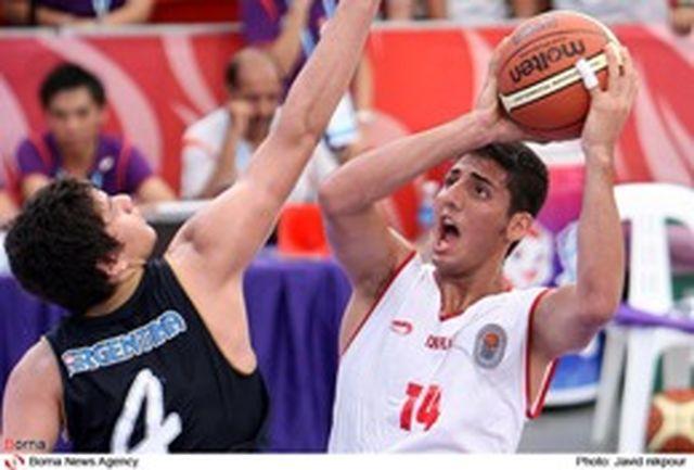 نوجوانان بسکتبالیست تست آمادگی جسمانی دادند