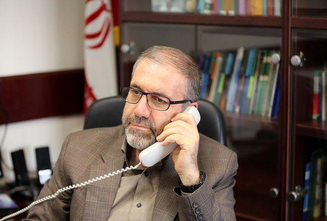 در تماس تلفنی با معاون امنیتی انتظامی وزیر کشور مطرح شد؛ ابراز همدردی وزارت کشور ترکیه با آسیبدیدگان زلزله کرمانشاه