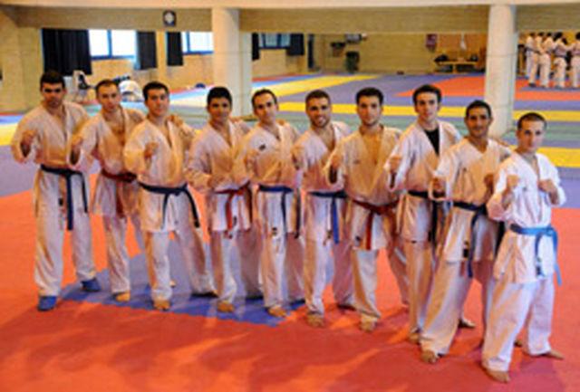 مرحله آخر اردوی تیم ملی کاراته روز دوشنبه برگزار میشود