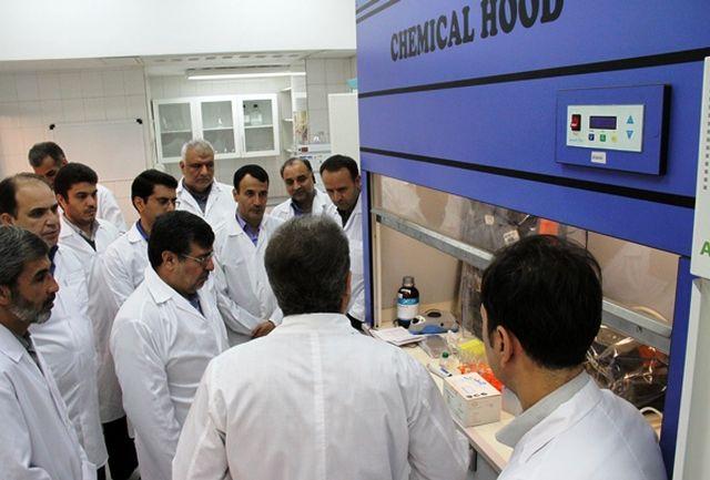 استاندار قزوین از آزمایشگاه مرجع کنترل کیفی موادغذایی بازدید کرد