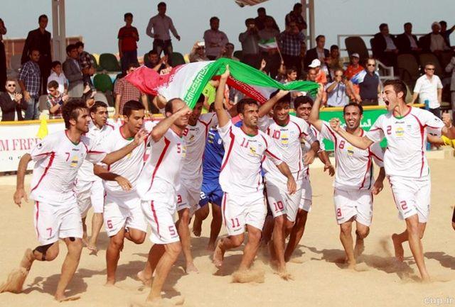 4 گیلانی در اردوی تیم ملی فوتبال ساحلی