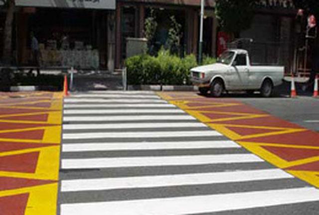 اجرای طرح «عابریار ترافیک» در سطح شهر قزوین