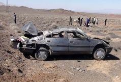 واژگونی پژو 2 کشته و یک مجروح برجای گذاشت