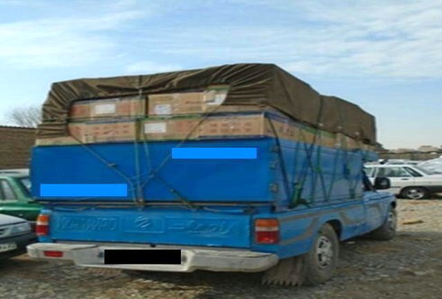 کشف محموله 150 میلیونی لوازم بهداشتی قاچاق در ملارد