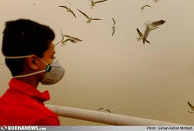 کاهش شدید میدان دید در همدان با آلودگی هوا