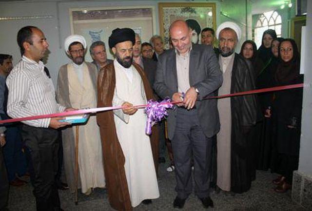 سومین نمایشگاه قرآن در  فرهنگسرای قرآن و عترت شهرستان قدس افتتاح شد