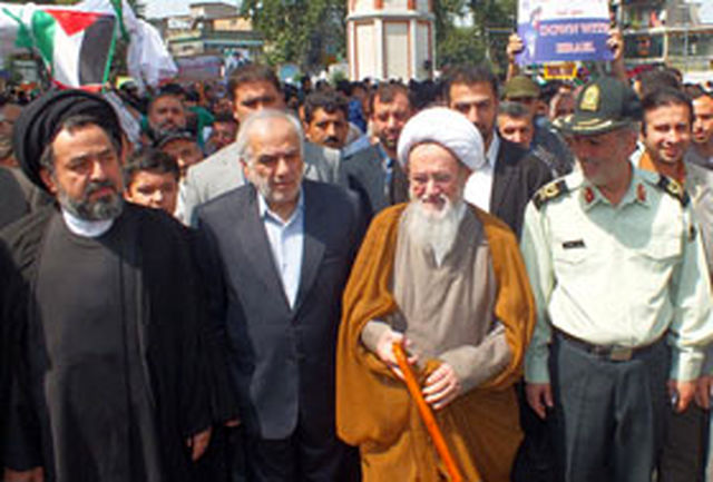 تقدیر استاندار مازندران از حضور حماسی مردم در راهپیمایی روز قدس