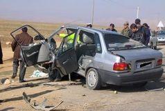 دو کشته و سه زخمی براثر واژگونی خودروی پراید