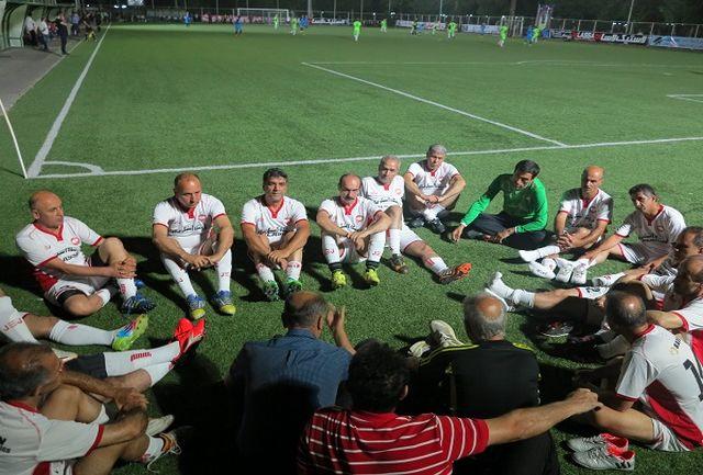 نتایج شب سوم مسابقات فوتبال پیشکسوتان گیلان جام رمضان مشخص شد